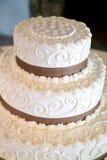 szczegóły partii poślubić ciasta obraz royalty free