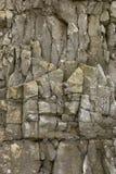 szczegóły plażowy Anglii stoi w obliczu punktu rockowego wielkiej brytanii piasek. Obraz Royalty Free