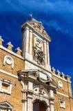 Szczegóły Porta Pia w Rzym zdjęcie stock