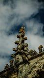 Szczegóły powierzchowność templariusza kościół klasztor rozkaz Chrystus, Tomar, Portugalia fotografia stock