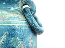 szczegóły pradawnych wazę Fotografia Stock