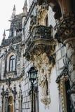 Szczegóły Quinta da Regaleira pałac w Sintra Obraz Royalty Free