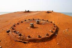 szczegóły rdzewiejący Zdjęcia Stock