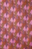 szczegóły rocznik tkaniny obrazy stock