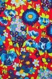 szczegóły rocznik tkaniny Zdjęcie Royalty Free