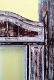 Szczegóły, stary drewniany Chiński drzwi Fotografia Royalty Free