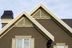 szczegóły stwarzać ognisko domowe dach Obraz Royalty Free