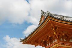 Szczegóły tradycyjny Japoński budynek Obrazy Royalty Free