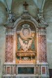 Szczegóły w kościół San Pietro w Vincoli w Rzym, Włochy zdjęcie stock