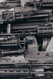 Szczegóły wiele konfiskujący nowożytni karabiny ximpx przemycanego de Obraz Royalty Free