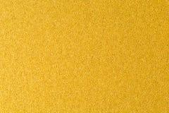 Szczegóły złoty tekstury tło Złocista kolor farby ściana Luksusowy złoty tło i tapeta Złocista folia lub fotografia stock