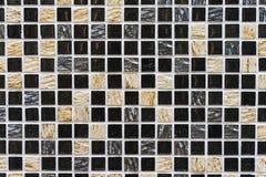 Szczegół abstrakcjonistyczna ceramiczna mozaika Zdjęcie Stock