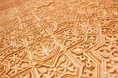 Szczegół Alhambra Zdjęcia Royalty Free