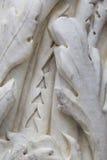 Szczegół antyczna marmurowa kolumna Zdjęcia Royalty Free