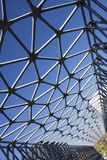 Szczegół artystyczny most w Zsolnay centrum w Pecs Obrazy Royalty Free