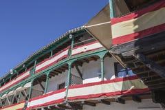 Szczegół balkony typowi wiek XIX, Hiszpania Fotografia Royalty Free