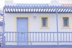 Szczegół budynek od Crete Obraz Royalty Free