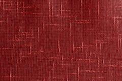 Szczegół czerwona tkanina Obrazy Stock
