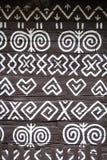 Szczegół dekoracje w Cicmany, Sistani Zdjęcia Stock