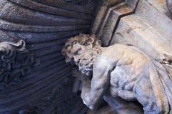 szczegół fontanna Obrazy Royalty Free