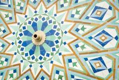 Szczegół islam mozaiki fontanna Zdjęcia Royalty Free
