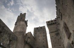 Szczegół kasztel fenis w val d ` aosta Italy Fotografia Royalty Free