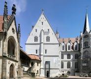 Szczegół katedra Meissen Obrazy Royalty Free