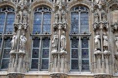 Szczegół katedra w Gent Zdjęcie Royalty Free