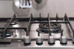 Szczegół kuchenka Zdjęcia Royalty Free