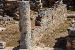 Szczegół marmurowa kolumna Zdjęcia Stock