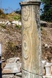 Szczegół marmurowa kolumna Zdjęcie Royalty Free