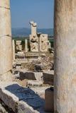 Szczegół marmurowa kolumna Fotografia Stock