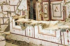 Szczegół marmurowa kolumna Obraz Royalty Free