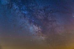 Szczegół Milky sposób Fotografia Royalty Free