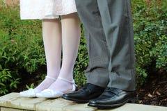Szczegół nogi Fotografia Royalty Free