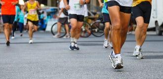 Szczegół nogi biegacze Obraz Stock