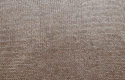 Szczegółowa tekstura trykotowy pulower zdjęcia royalty free
