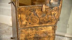 Szczegółowy drewniany przedmiot zdjęcie wideo
