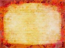szczegółowy grunge papieru rocznie Zdjęcia Stock