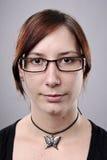 Szczegółowy Portret Zdjęcia Royalty Free