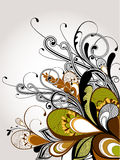 szczegółowy rysunek kwiecisty pochodzenie wektora Zdjęcie Stock