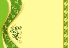 szczegółowy rysunek kwiecisty pochodzenie wektora Fotografia Royalty Free