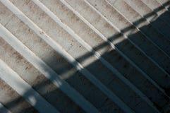 Szczegółowy widok betonowy schody Zdjęcie Stock