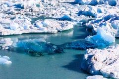 Szczegół Perito Moreno lodowiec Obrazy Royalty Free