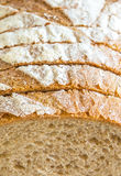 Szczegół pokrojony chleb Obraz Stock