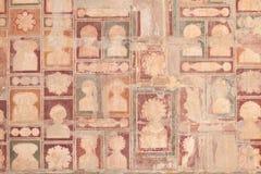 Szczegół Przy Akbar ` s Grobowcowym kompleksem W Sikandra Fotografia Royalty Free