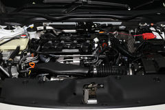 Szczegół silnik w nowym samochodzie Zdjęcie Stock