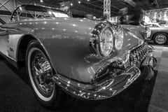 Szczegół 1960 sporta samochodu Chevrolet korweta, (C1) Obrazy Royalty Free
