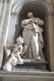 Szczegół St Peter bazyliki watykan Fotografia Royalty Free