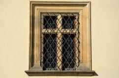 Szczegół stary okno Fotografia Royalty Free
